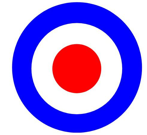 Luxury do it yourself photo booth prop sign for events and parties make concentric circles using clip art circles this one is a mod symbol solutioingenieria Choice Image
