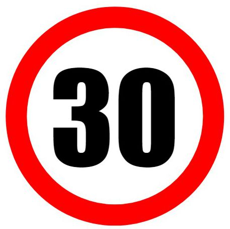 Luxury do it yourself photo booth prop sign for events and parties make road signs and use them for birthdays like this speed limit sign solutioingenieria Images