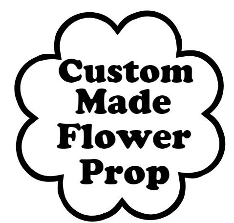 18 5cm Flower Photo Booth Prop Made to Order