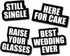 Best wedding Ever Selfie Signs