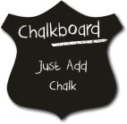 Shield shaped Chalkboard