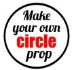 Make your own circular photo prop