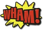 Hand Held Cartoon Photo Prop Wham