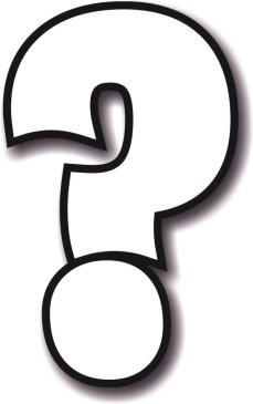 Question Mark Sign photo prop