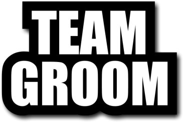 Team Groom large #wordprop