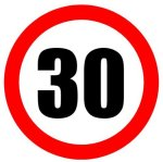 Make Road signs and use them for birthdays, like this speed limit sign