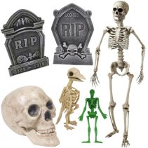 Skeletons and Tombstones