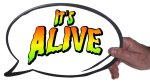 It's Alive Halloween Photo Booth Prop