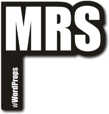 MRS #wordprop