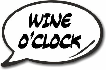 Wine O'Clock photo Prop