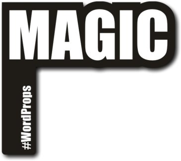 MAGIC #wordprop