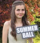 Holding Summer Ball Large Word Prop