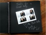 Photo Booth Album 84 pages showing black pages