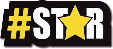 #Star photo booth sign