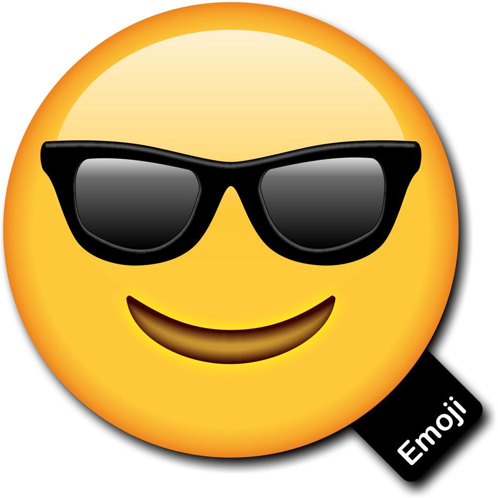 Emoji Photo Prop Cool Wearing Sunglasses Photo Booth Prop