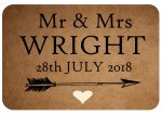 Mr & Mrs Wright, example