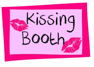 Kissing Booth Sign