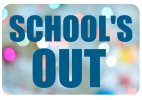 School's Out photo booth sign