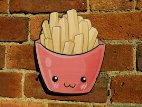 Punnet of Fries photo booth sign