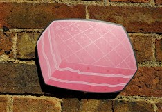 Jumbo Pink Wafer Biscuit photo booth prop