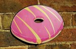 Giant Party Ring photo booth prop