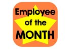 Employee of the Month Photo Sign