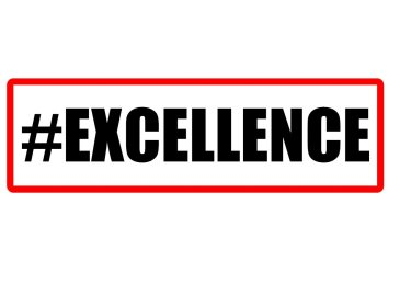 #Excellence photo booth sign