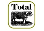 Total Bull Square photo booth prop sign in a vintage style