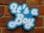 It's a Boy Gender Reveal photo booth prop