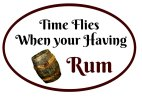 Time Flies When You're Having Rum photo booth prop