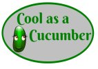 Cool as a cucumber competition entry