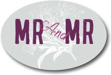 MR and MR wedding photo booth sign