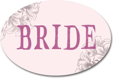 Bride Wedding Photo Booth Prop