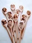 Just one of many celeb spoons we do